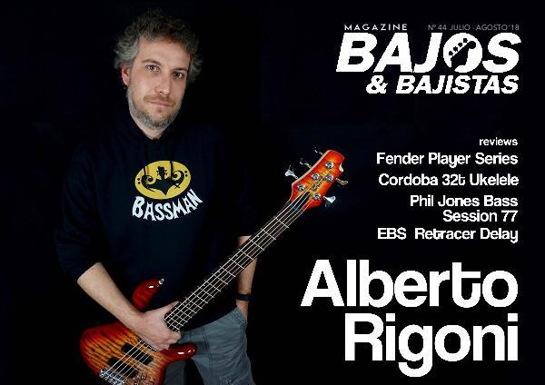 Cutaway Guitar Magazine BAJOS Y BAJISTAS 44