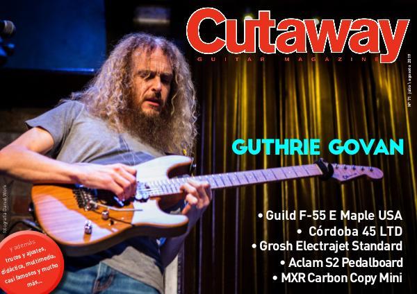 Cutaway Guitar Magazine CUTAWAY 71