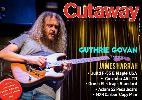 Cutaway Guitar Magazine CUTAWAY71