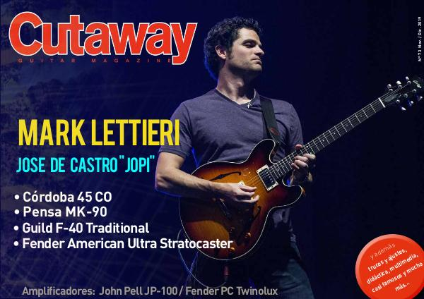 Cutaway Guitar Magazine CUTAWAY 73