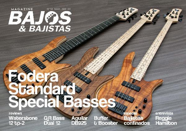 Cutaway Guitar Magazine BAJISTAS N 54