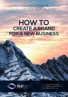 Creating a Brand for a New Business