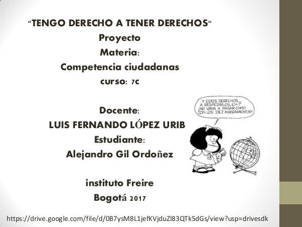 TENGO DERECHOS A TENER DERECHOS TENGO DERECHOS A TENER DERECHOS