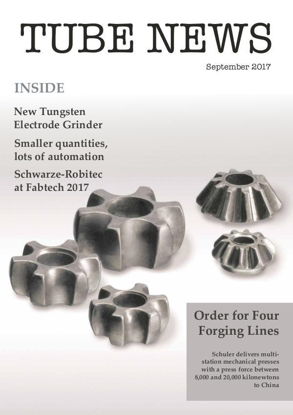 TUBE NEWS TN September 2017