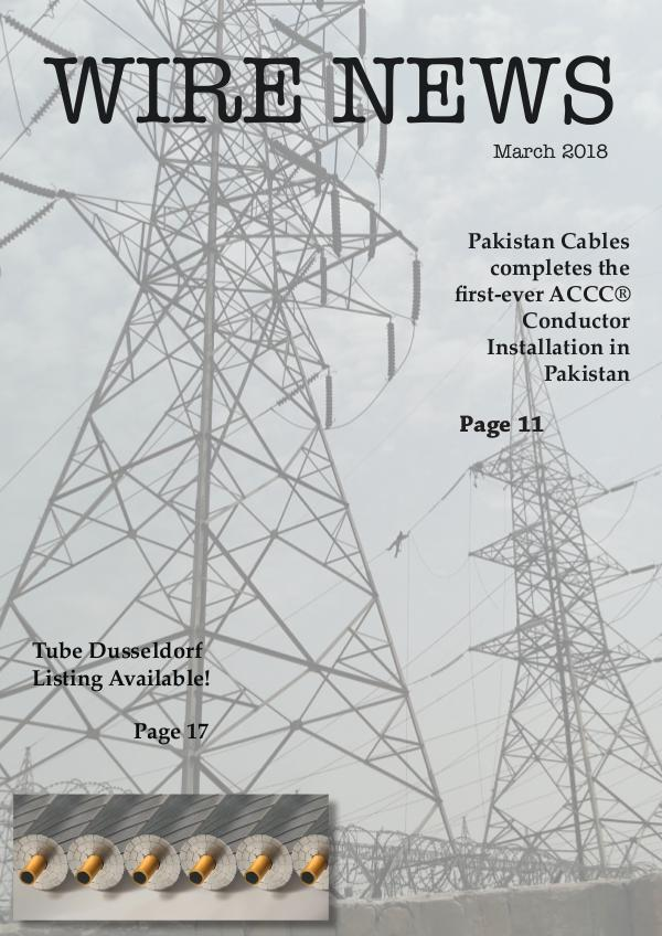 WIRE NEWS WN March 2018