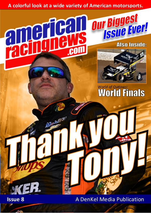 American Racing News Vol 1, Issue 2 Issue 8