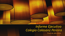 Informe Ejecutivo Calasanz