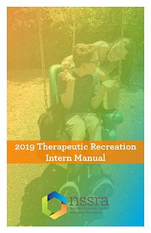 Therapeutic Recreation Intern Manual