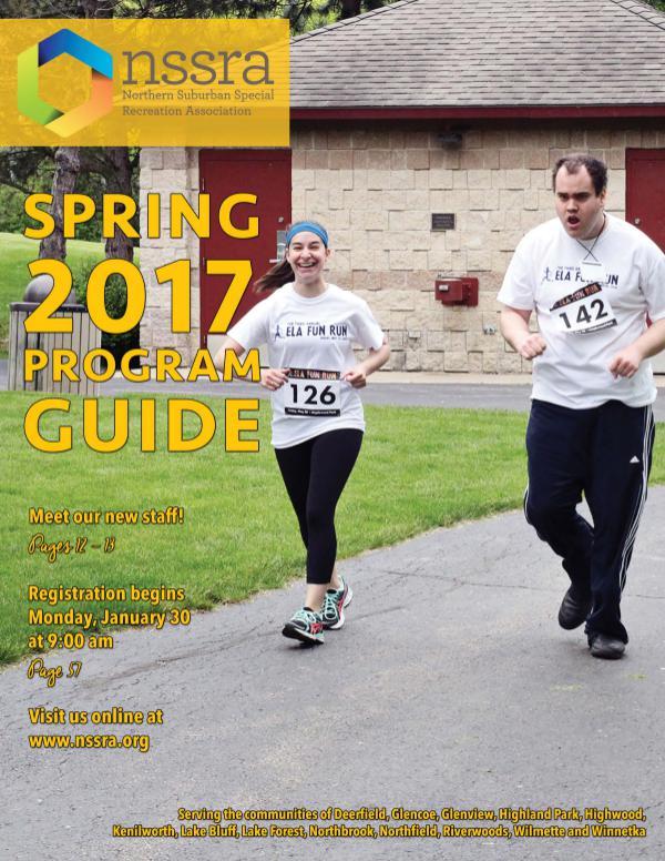 NSSRA Program Guides Spring 2017