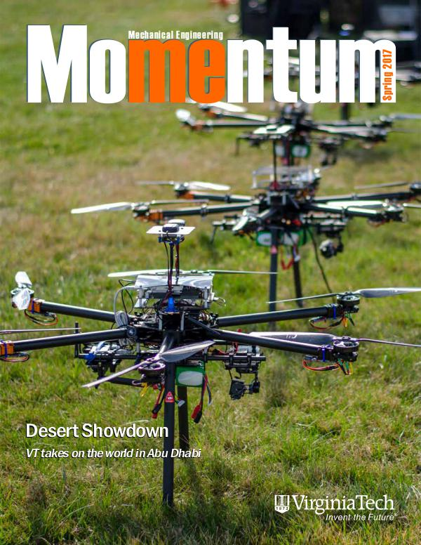 Momentum - The Magazine for Virginia Tech Mechanical Engineering Vol. 2 No. 1