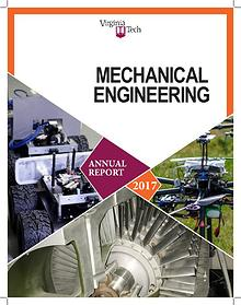 Virginia Tech Mechanical Engineering 2016 Annual Report