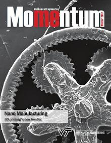 Momentum - The Magazine for Virginia Tech Mechanical Engineering