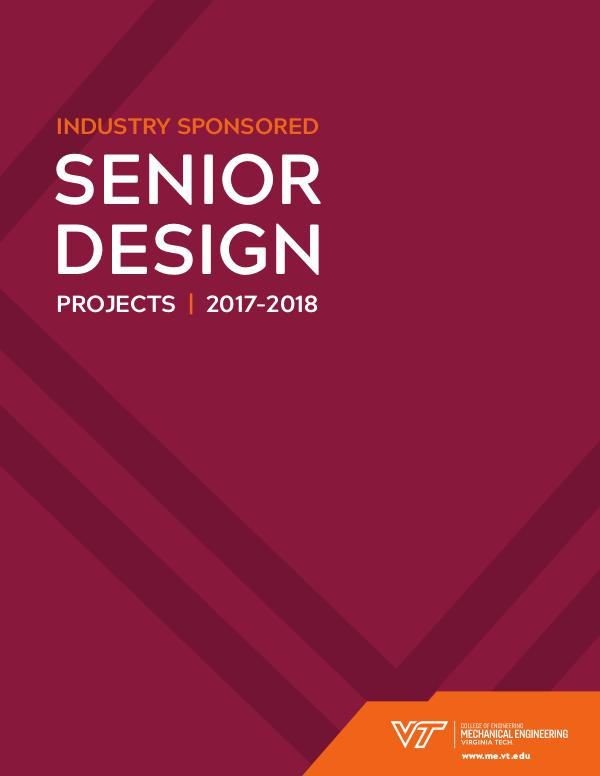 Senior Design Expo 2017-2018 ME_SeniorBrochure_Digital