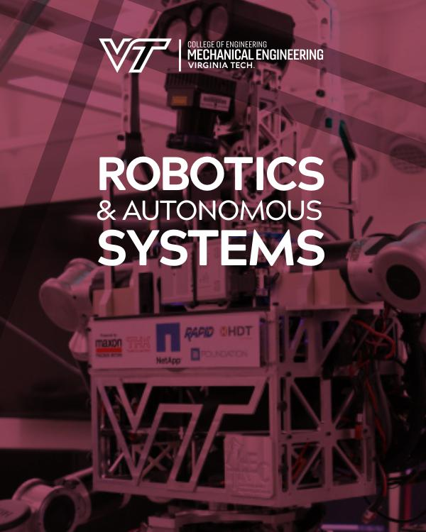 Mechanical Engineering Systems Brochures Robotics & Autonomous Systems