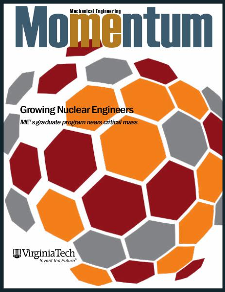 Momentum - The Magazine for Virginia Tech Mechanical Engineering Vol. 1 No. 2