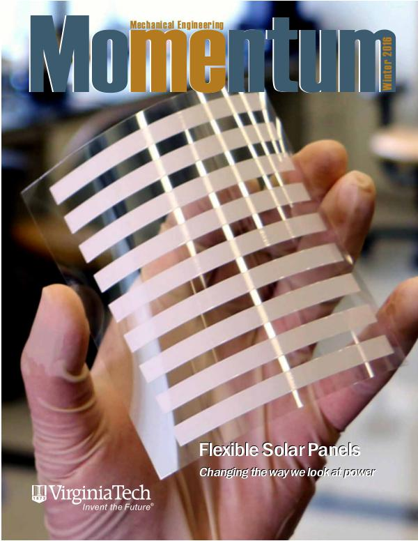 Momentum - The Magazine for Virginia Tech Mechanical Engineering Vol. 1 No. 4