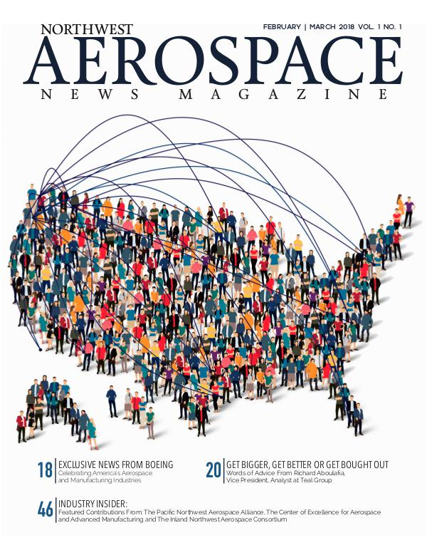 Northwest Aerospace News February | March 2018 Issue No. 1