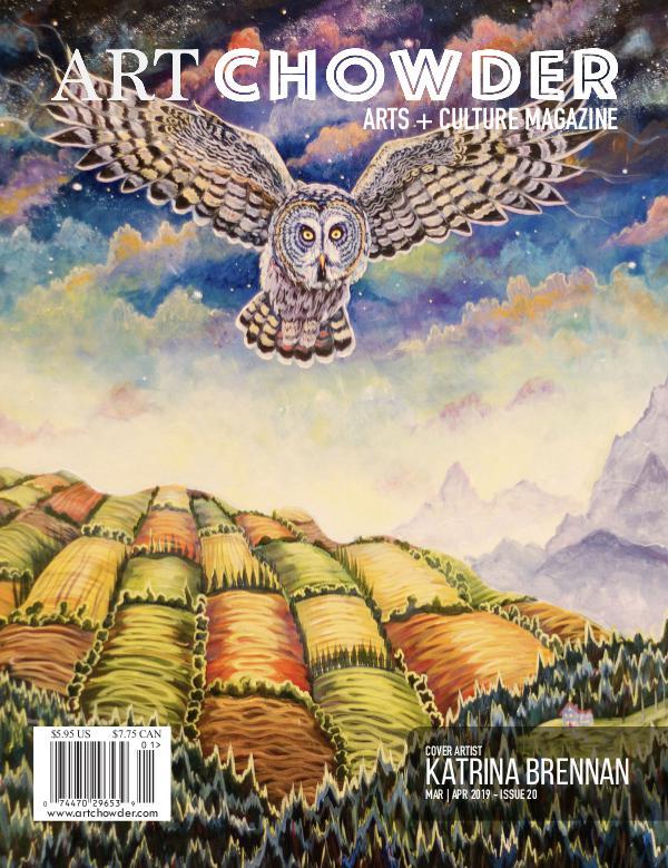 Art Chowder March | April, Issue 20