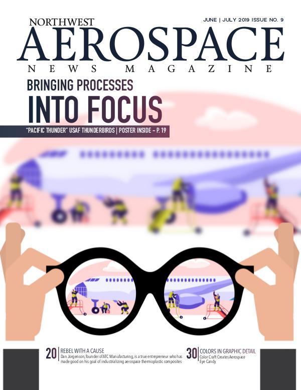 Northwest Aerospace News June   July 2019 Issue No. 9