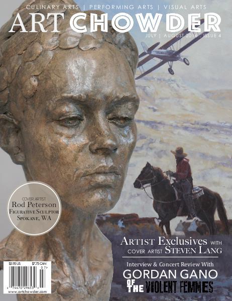 Art Chowder July   August 2016, Issue 4