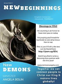 New Demons-  MONDAY THURSDAY