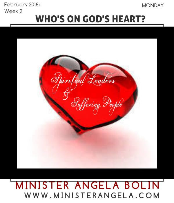 Who's On God's Heart MONDAY