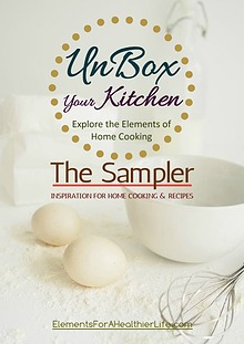 "UnBox Your Kitchen Journal ""The Sampler"""