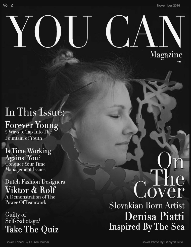 YOU CAN MAGAZINE Volume 2