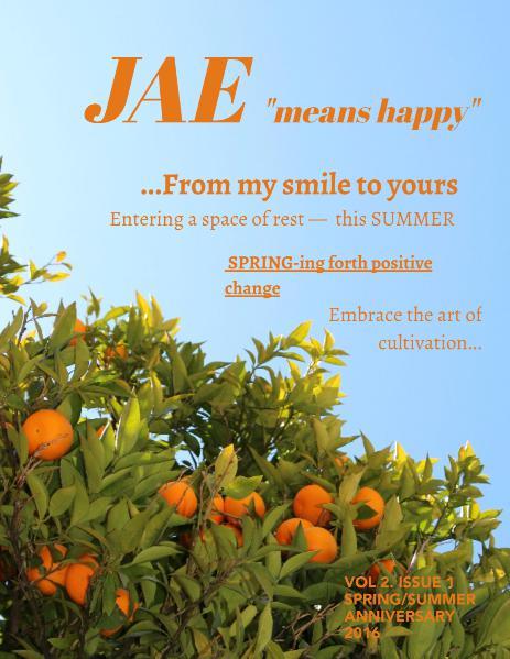 Jae Magazine Anniversary 2016 Issue