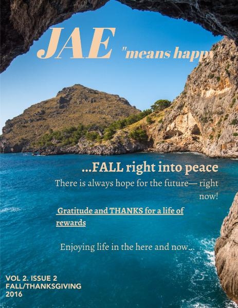 Jae Magazine Fall 2016 Issue
