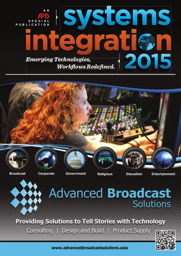 Asia-Pacific Broadcasting (APB) Systems Integration 2015