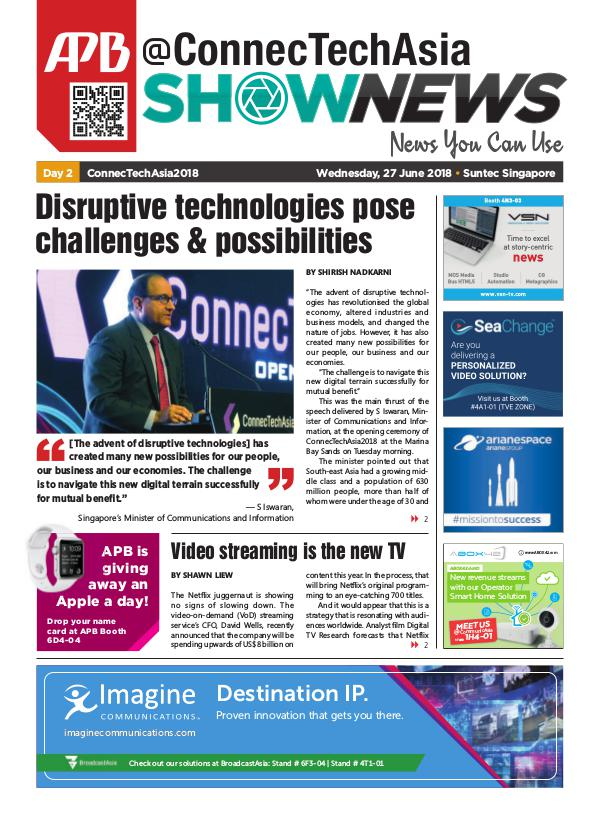 @ConnecTechAsia Show News - Day 2