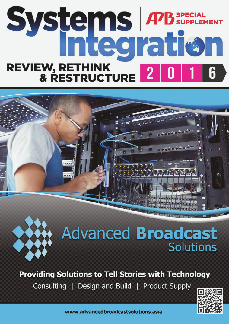 Asia-Pacific Broadcasting (APB) Systems Integration 2016