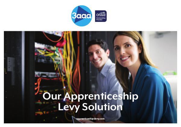 Our Apprenticeship Levy Solution Apprenticeship Levy Prospectus