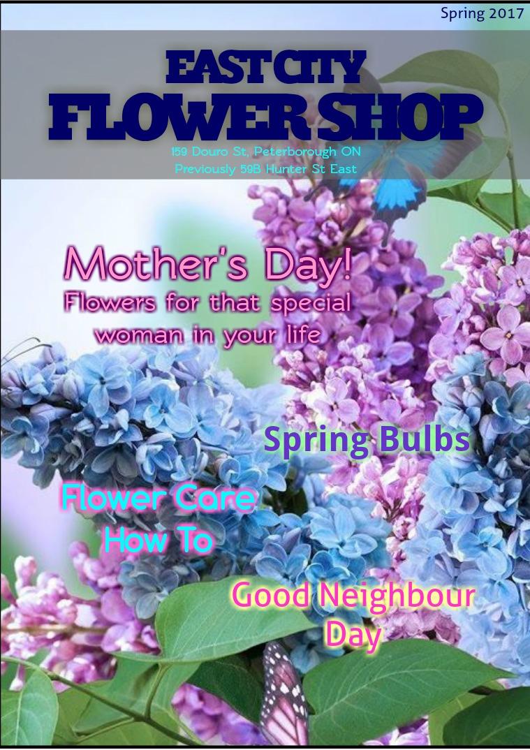 East City Flower Shop Spring 2017