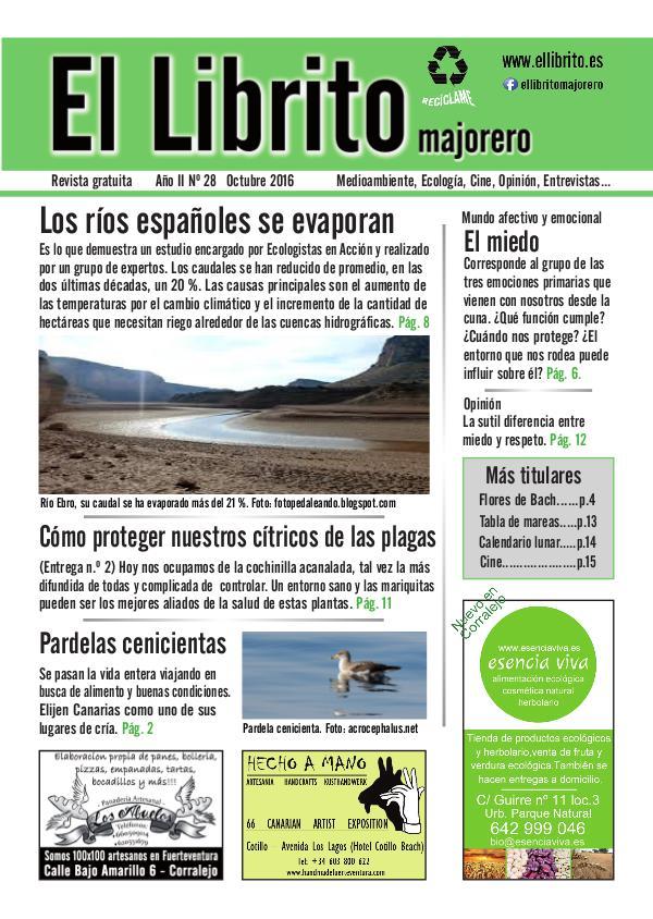 El Librito Majorero nº28, Octubre 2016