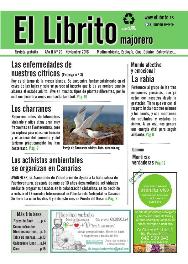 El Librito Majorero nº29 noviembre 2016