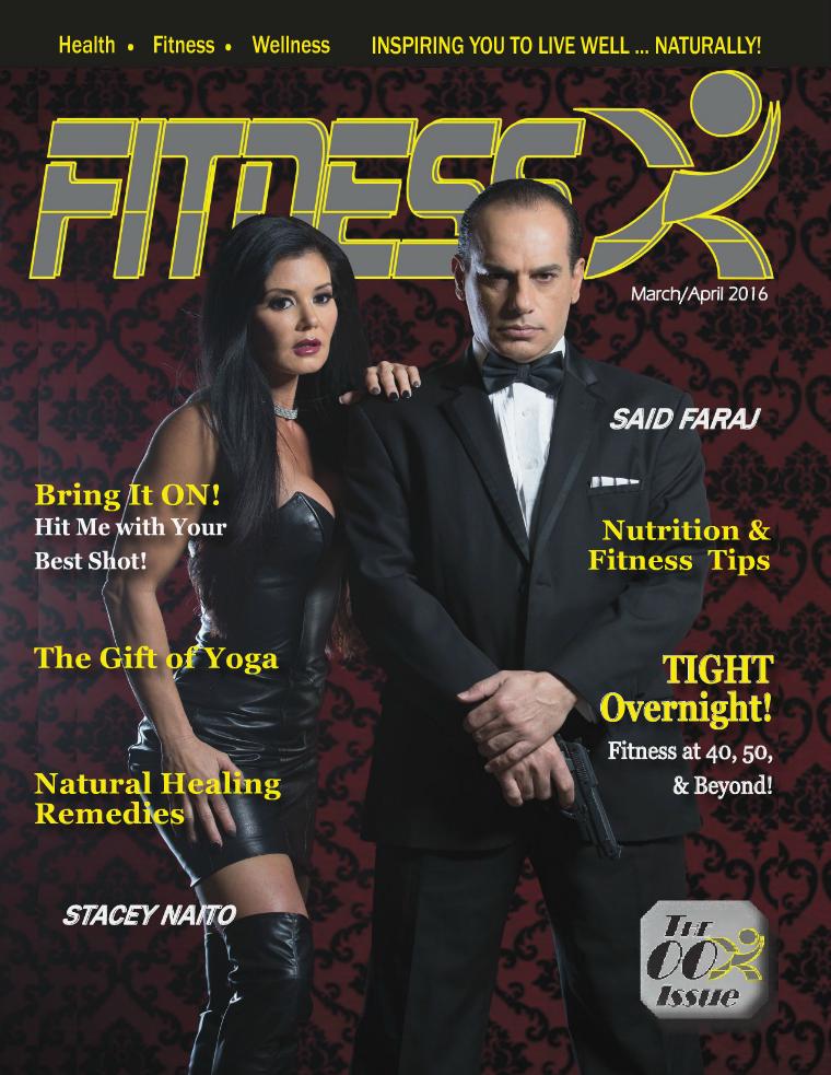 FitnessX Magazine March/April 2016 Vo1 - 2016
