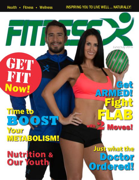FitnessX Magazine June/July 2016 Vol-2 2016