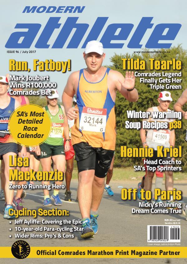 Modern Athlete Magazine Issue 96, July 2017