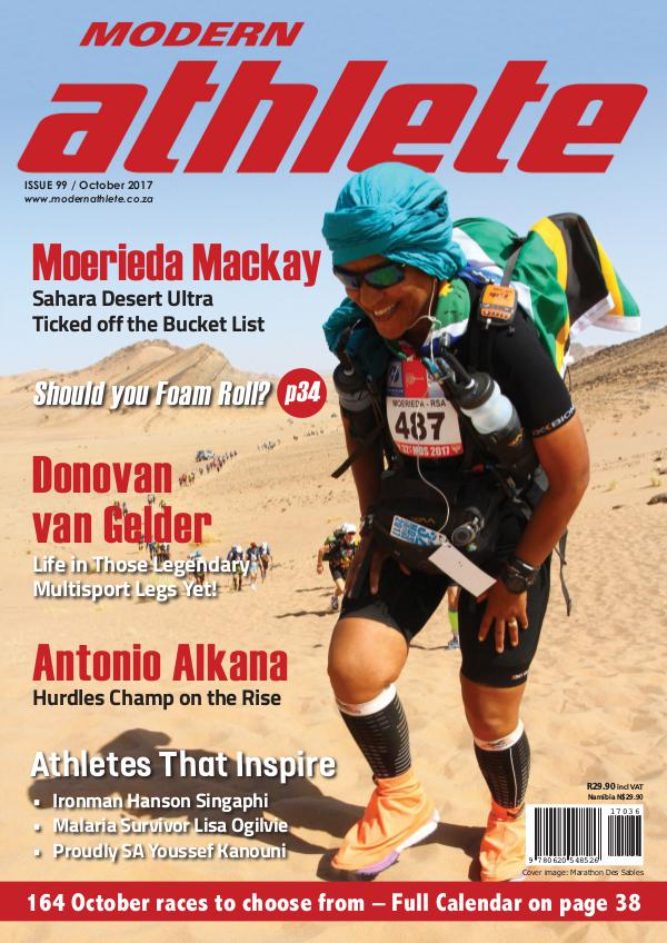Modern Athlete Magazine Issue 99, October 2017