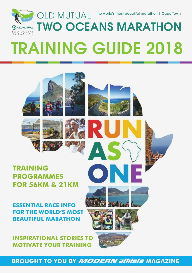 Supplements Two Oceans Marathon Training Guide 2018