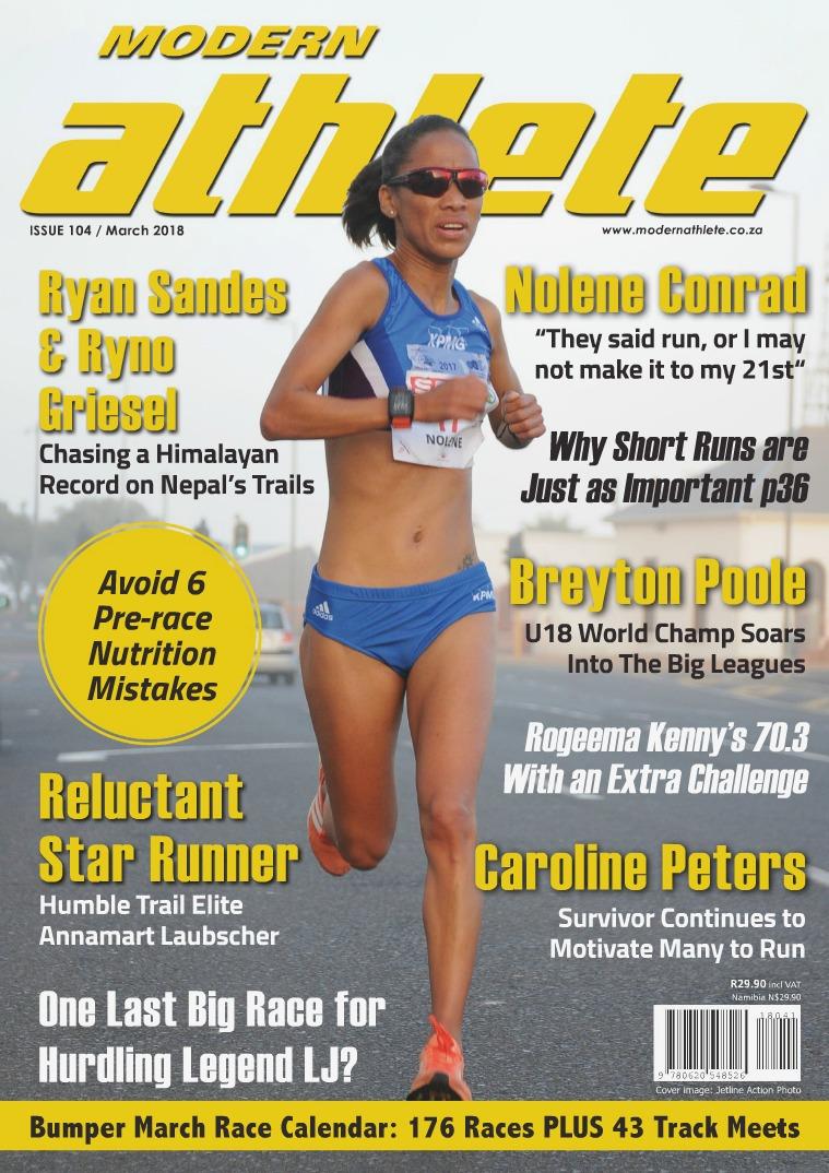 Modern Athlete Magazine Issue 104, March 2018
