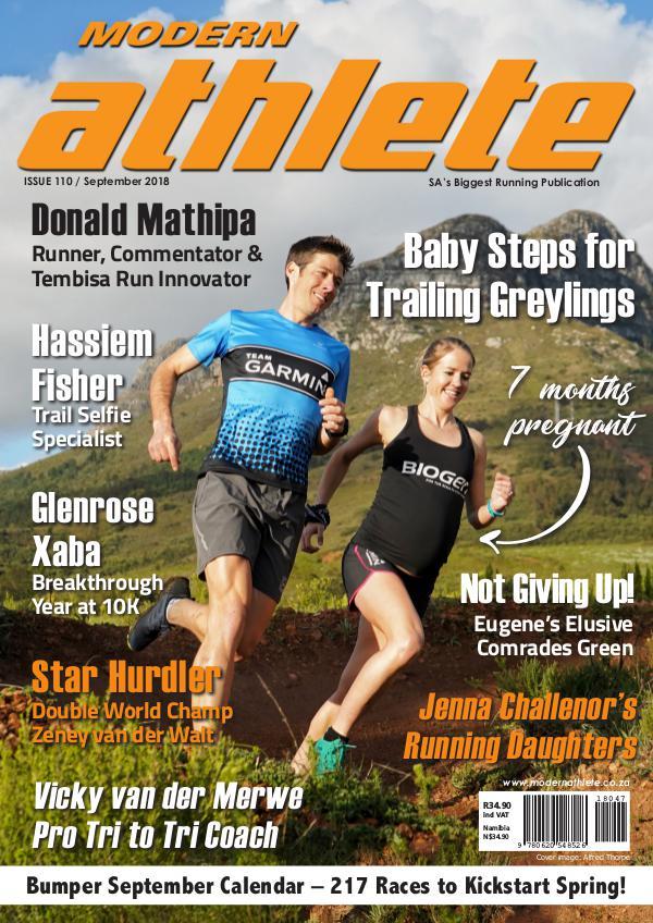 Modern Athlete Magazine Issue 110, September 2018