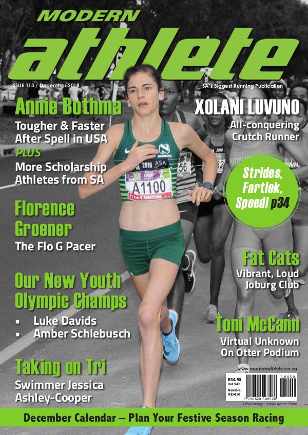 Modern Athlete Magazine Issue 113, December 2018