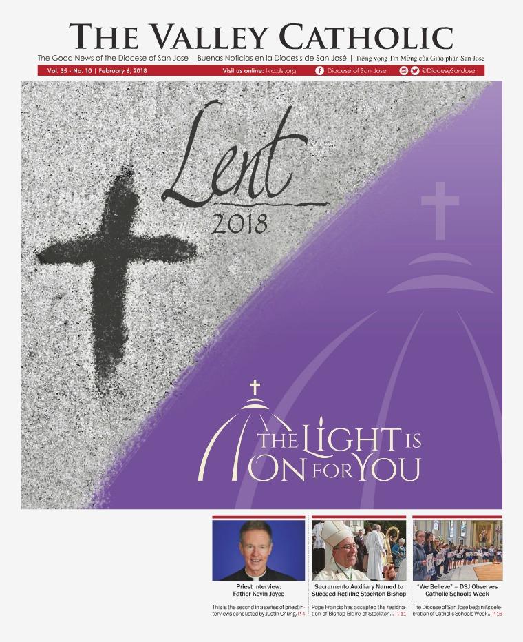 The Valley Catholic February 6, 2018