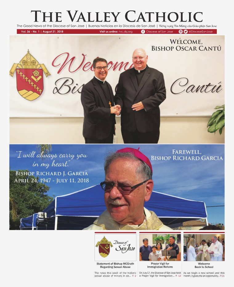 The Valley Catholic August 21, 2018