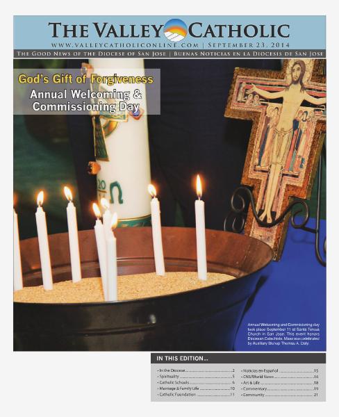 The Valley Catholic September 23, 2014