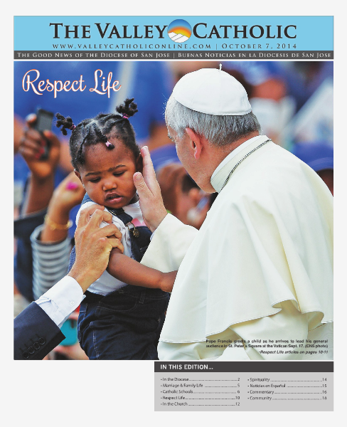 The Valley Catholic October 7, 2014