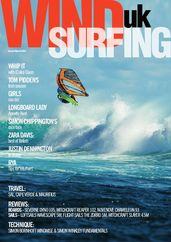 WindsurfingUK Issue 6 March 2018